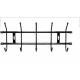 Вешалка НИКА настенная ВН5 484х188мм 5 крючков